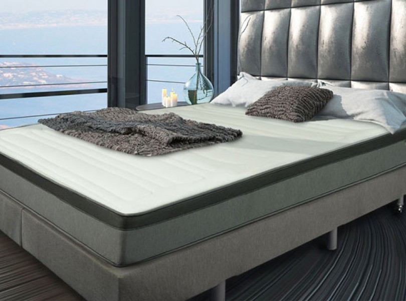 matelas matelas mousse m moire de forme 60kg m3 gris literie matelas pour. Black Bedroom Furniture Sets. Home Design Ideas