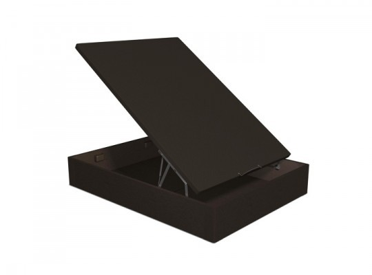 sommiers lit coffre noir literie matelas pour. Black Bedroom Furniture Sets. Home Design Ideas