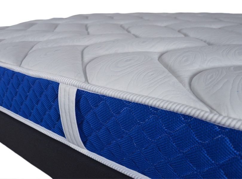 matelas matelas en mousse m moire de forme bande 3d bleue literie matelas pour. Black Bedroom Furniture Sets. Home Design Ideas