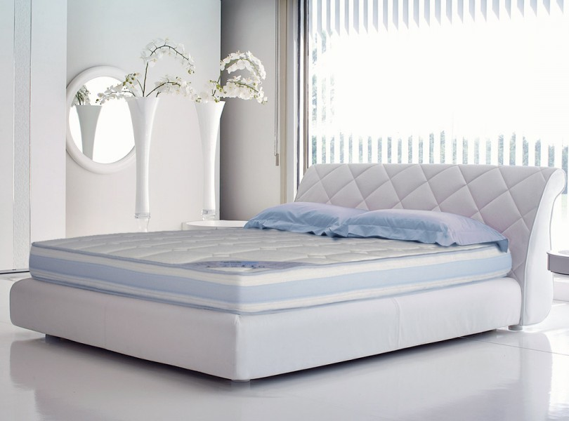 matelas matelas en mousse m moire de forme bi technologie literie matelas pour. Black Bedroom Furniture Sets. Home Design Ideas